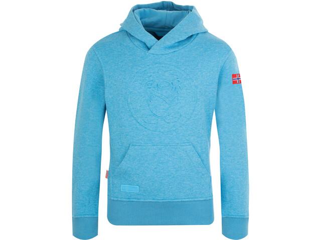 TROLLKIDS Kristiansand Sweater Kids, medium blue